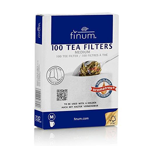Finum 100 Papierteefilter Größe M Finum Tea Brewing Basket
