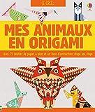 Kit Je crée... Mes animaux en origami...