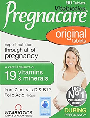 Vitabiotics Pregnacare Original - 90 Tablets by Pregnacare