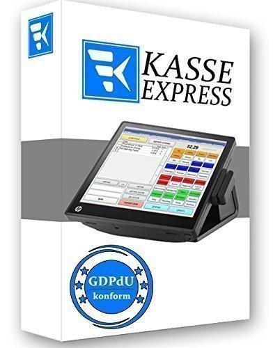 Windows Software de Caja expresskasse Gastro Para Restaurante Cantina Café gdpdu COMPATIBLE
