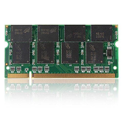 Tutoy 1GB DDR333 PC2700 200 Pins Nicht-ECC Cl2.5 Laptop DIMM Speicher RAM -