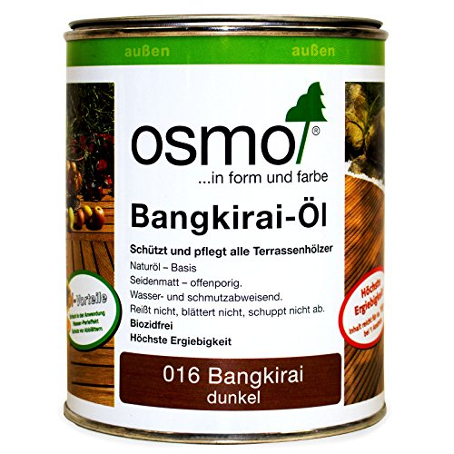 Preisvergleich Produktbild OSMO Bangkirai-Öl dunkel 016 seidenmatt 750ml