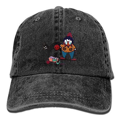 LINGVYTE Clown Horror Vintage Cowboy Baseball Caps Trucker Hats Natural