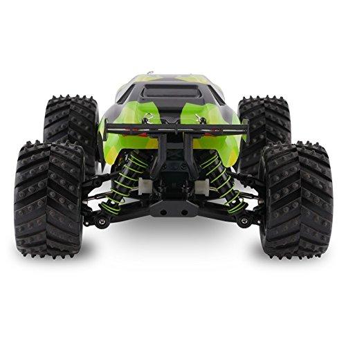 RC Truggy kaufen Truggy Bild 1: Overmax X-Monster 3.0 Monster Truck ferngesteuertes RC Auto - unglaubliche 45 km/h schnell - 1:18 Maßstab - 2 Akkus - Allrad - 100m Reichweite- Buggy*