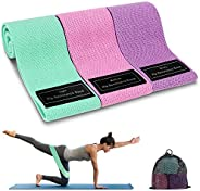 Cocoda Bandas Elasticas Musculacion, 3 Piezas Bandas Elásticas Fitness con 3 Niveles para Piernas/Glúteos/Musl