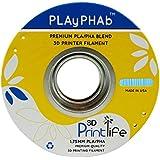 3D Printlife PLAyPHAb 1,75mm Himmelblau PLA/PHA Mischung 3D-Drucker Filament, Maßhaltigkeit <+/- 0,05 mm, Himmelblau - gut und günstig