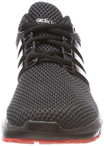 adidas Energy Cloud, Scarpe Running Uomo Nero (Core Black/core Black/hi-res Red)