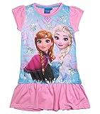 Frozen Kollektion 2017 Nachthemd Die Eiskönigin 98 104 110 116 122 128 Nachtkleid Nachtrobe Disney Anna und ELSA Rosa (98-104, Rosa)