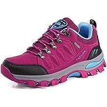 BomKin Herren Damen Wanderschuhe Wasserdicht Trekking Winterschuhe Warm Gefüttert Winter Boots Schneestiefel Plateau Sneakers Schuhe