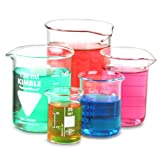 Glass Measuring Beaker Set | Low Form Beakers, Measuring Cups, Borosiliate Beakers Best Review Guide