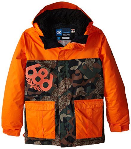686 Kinder Snowboard Jacke Elevate Insulated Jacket Boys (Burton Jacken Insulated)