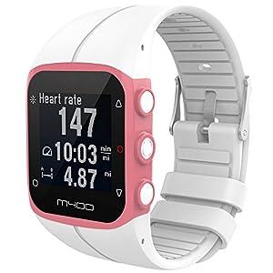 iFeeker para Polar M400/M430 GPS Banda de Reloj Inteligente, Accesorio de Silicona Suave de Caucho reemplazo Banda de Reloj Pulsera de Banda para Polar M400 / M430 Unisex Adulto GPS Running Watch