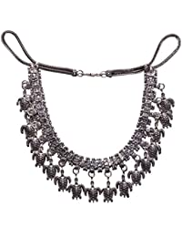 Aamoddhini Party Wear Western Fancy Designer Necklace Set For Women And Girls LN-27