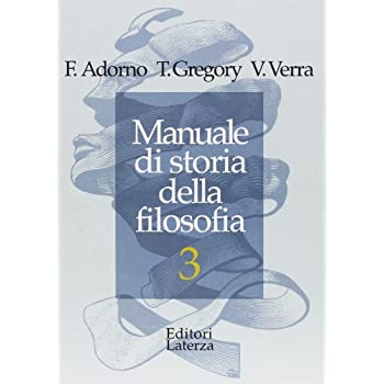 Manuale Di Storia Della Filosofia. Per Le Scuole Superiori: 3
