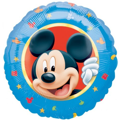 Mickey Mouse Portrait Foil Balloon 18 /45cm (uninflated)