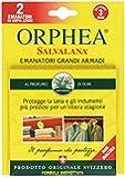 Orphea Salvalana - Emanatori Grandi Armadi, al profumo di fiori, protegge la lana -  2 pezzi