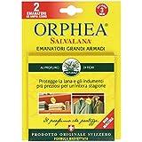 Orphea Salvalana–emanatori grandes armoires, au parfum de fleurs, protège la laine–8boîtes de 2pièces [16...