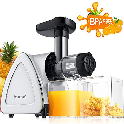 Extracteur de Jus de Fruits et Légumes, Homever Extracteur de Jus utilisation pour extraire plus de...