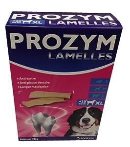 Prozym Lamelles à Macher Dentaire pour chien de 30kg 226g