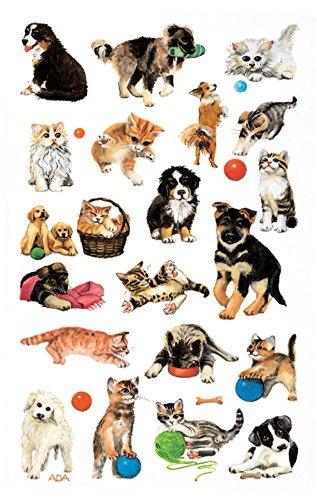 avery-zweckform-53487-kinder-sticker-hunde-katzen-63-aufkleber