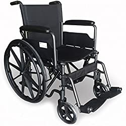 silla de ruedas plegable amazon