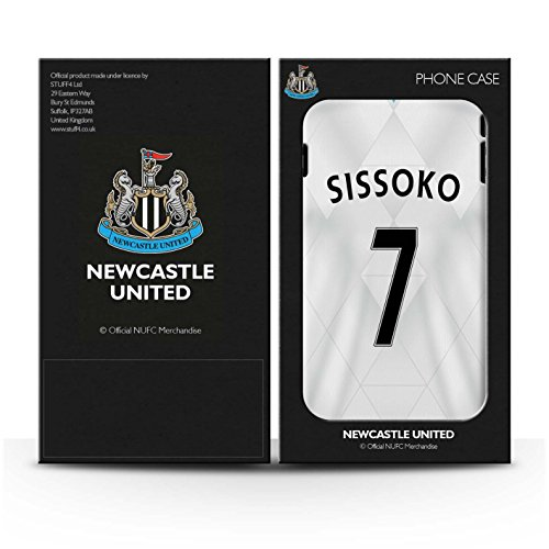 Offiziell Newcastle United FC Hülle / Glanz Snap-On Case für Apple iPhone 4/4S / Pack 29pcs Muster / NUFC Trikot Away 15/16 Kollektion Sissoko