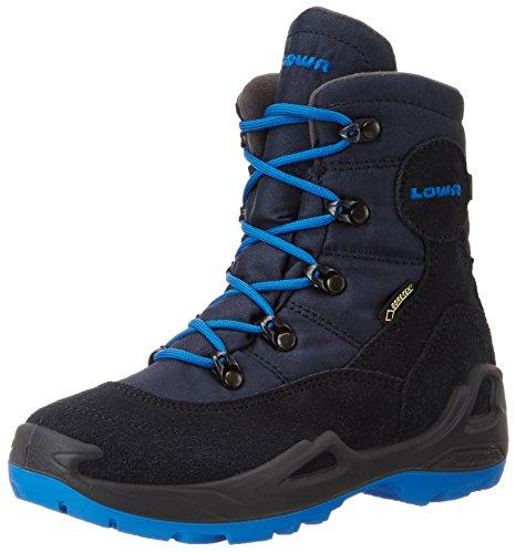 Lowa Rufus Iii Gtx Hi, Stivali da Escursionismo Unisex – Bambini Blu (Navy/Blau Navy/Blue)