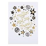 Hallmark - Tarjeta de agradecimiento «One In A Million», tamaño medio