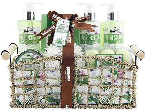 BRUBAKER Cosmetics - Coffret de bain & douche - Aloe Vera -...