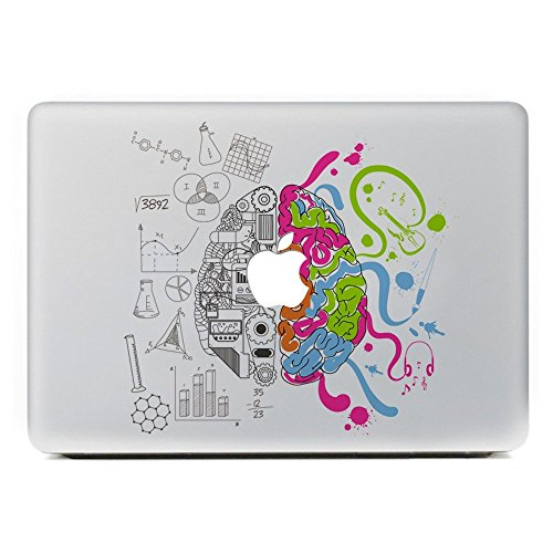 Adhesivos Macbook (Cerebro Creativo)