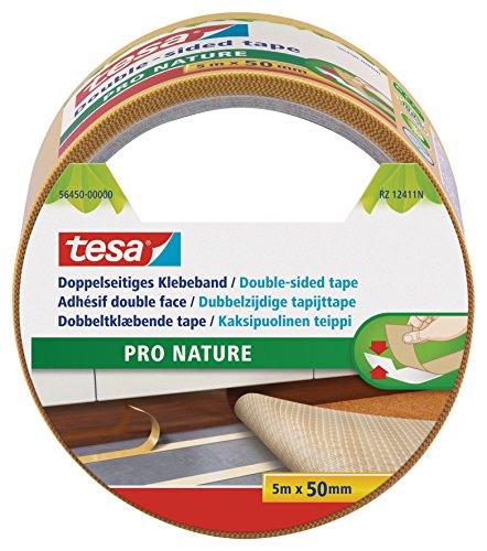 Tesa Doppelseitiges Klebeband, Eco Fixation, 5m:50mm