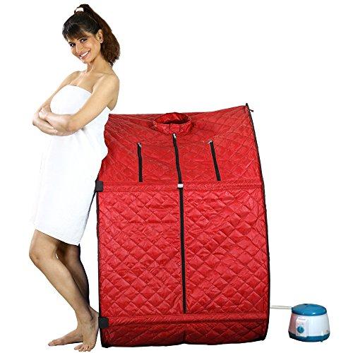 Kawachi Portable Therapeutic Steam Sauna Bath Home for Spa Weight Loss