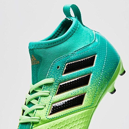 adidas Kinder-Unisex Ace 17.3 Fg J Fußballschuhe, Rot Grün (Versol/negbas/verbas)