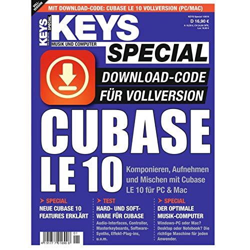 Keys Special 1/2019 inkl. Cubase LE 10