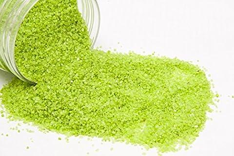 La boite de Sable Décoratif - Vert anis