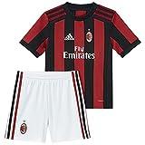 ADIDAS AC Milan H, Anzug Fußball Unisex Kinder, AC Milan H, Rosso (Rojvic/Nero), 92