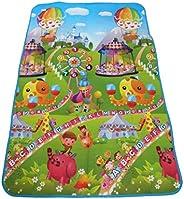 Kids Floor Carpet Double Face Waterproof Size 120*180 cm, 154-5