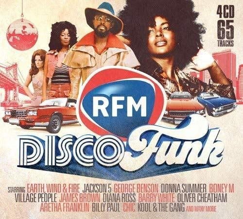 Rfm Disco Funk (Box 4 CD)