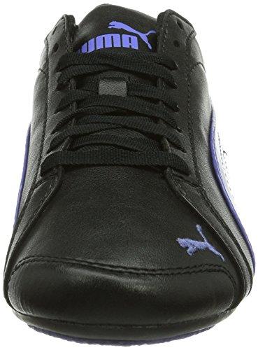 Puma Janine Dance Mädchen Sneakers Schwarz (black-blue iris-sky blue 11)