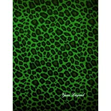 Green Leopard: 106 pages 21.59 x 27.94 cm