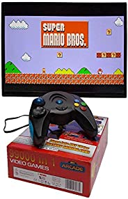Shoppers4u 99000 in 1 Video Game Pad Built in TV Game Single Player Direct AV Inputs USB No Batteries Required