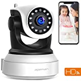 APEMAN WiFi IP Camera 720P Wireless Home Security Surveillance CCTV Indoor Camera with Night Vision Baby Pet Remote Monitor Motion Detection Two Way Audio Pan/Tilt/Zoom