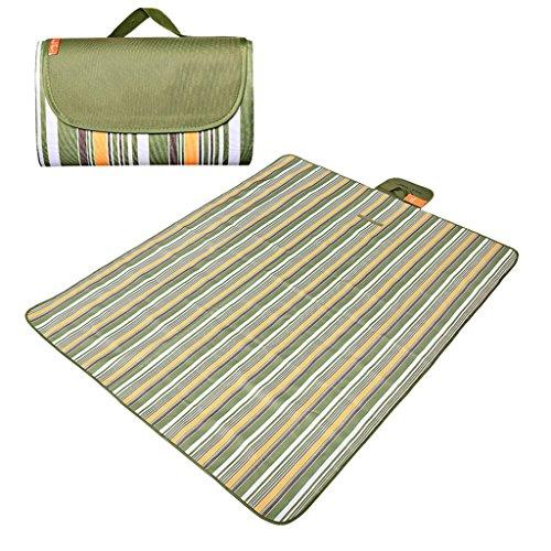YOTA HOME Couverture de Pique-Nique Tapis De Pique-Nique Picnic Confortable Portable Épaississement Tentes Sacs De Couchage Camping Mat 145 * 180cm Pique-Nique