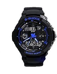 Sannysis Multi Function Military S-Shock LED Wasserdicht Sportuhr Alarm 0931