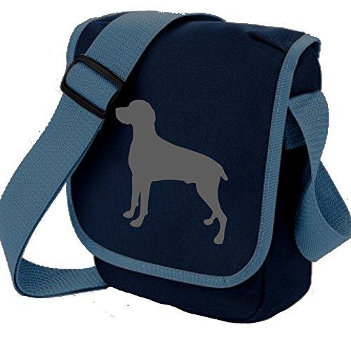 Bag Pixie - Borsa a tracolla unisex adulti Blue Bag