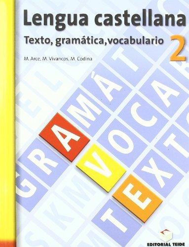 Lengua castellana, texto, gramática, vocabulario, 2 ESO. Cuaderno y solucionario - 9788430749447 por Mercè Arce Lasso