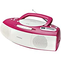 Grundig RRCD 1400 CD-RADIO-RECORDER in pink/weiß