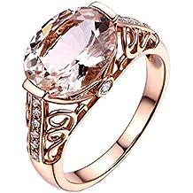 a7394ba611f0 Anillo de oro rosa Dream Rose Gold Morgan de Bigboba