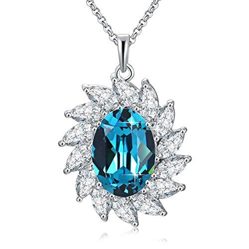 sunburst-pendant-fashion-womens-necklace-blue-swarovski-crystals-jewellery-with-adjustable-16-18-cha