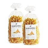 nu3 Pasta con Farina di Piselli Gialli BIO Senza Glutine 500g | Fusilli di Piselli Gialli per Celiaci e Vegani | Spirelli con Farina di Legumi | Confezione da 500g